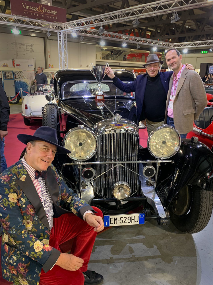 Best of Show. Milano AutoClassica 2019