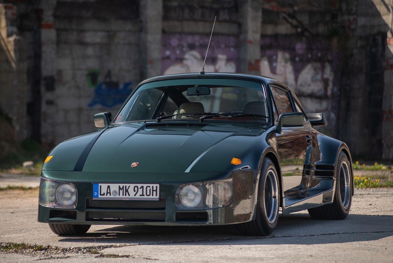 Porsche 911 Flatnose historic racecar