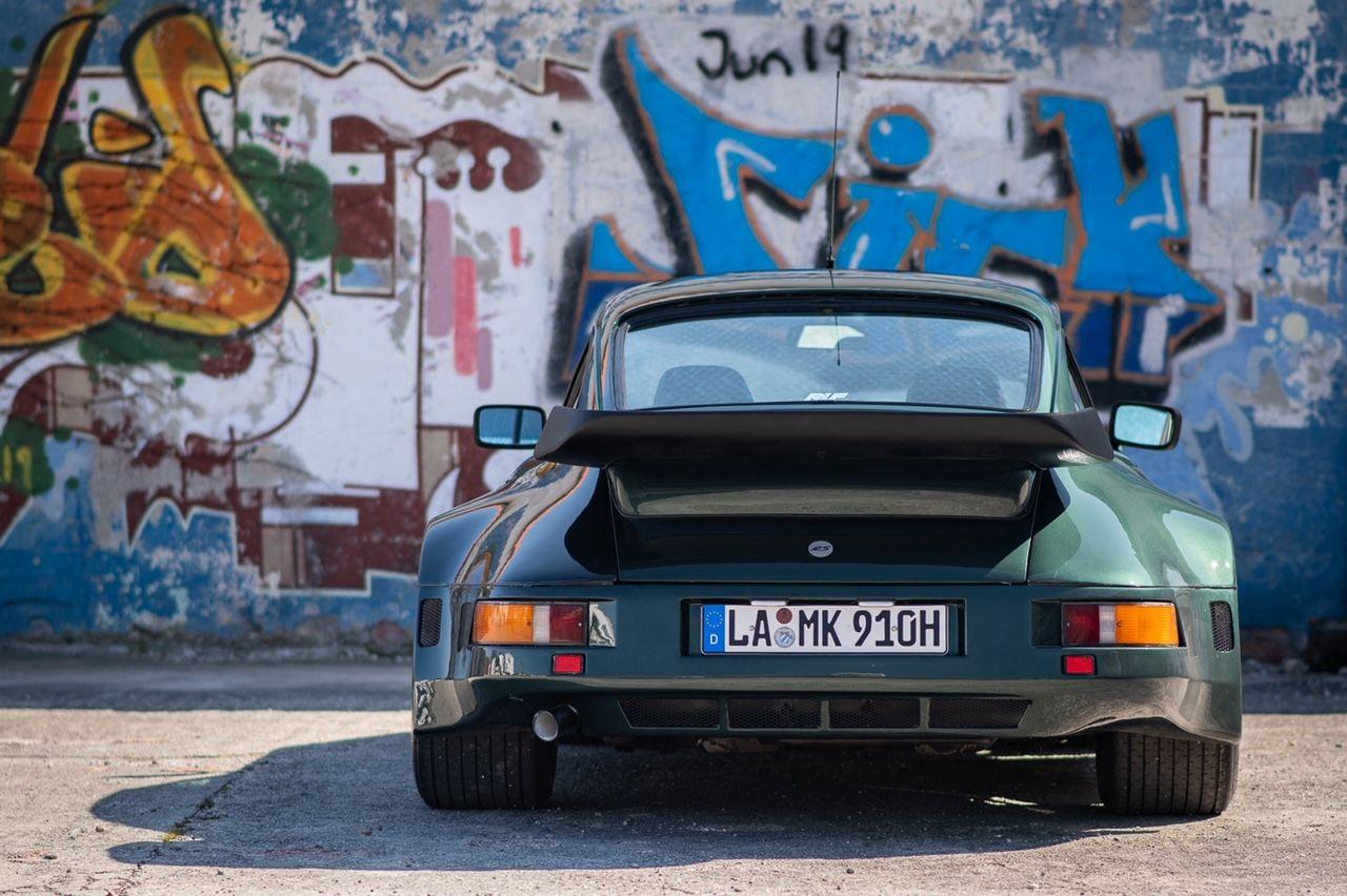 Porsche 911 Flatnose, backside
